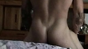 Homemade couple having sex in the bedroom (part 2)