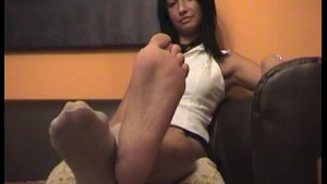 Feet of a sexy girl!