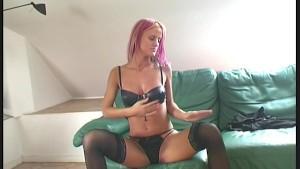 Glamour Babe Cynthia stripping