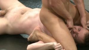 Gay jock-strap wrestling