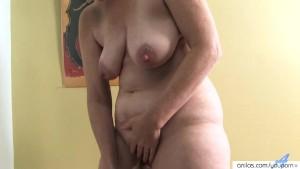 Horny housewife mature masturbation