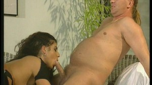 Two big tits woman takes on two dicks