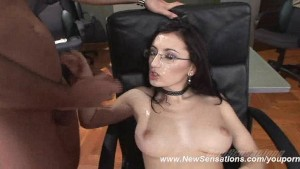 Euro Starlet Nora Davis Takes Multiple Cum Loads