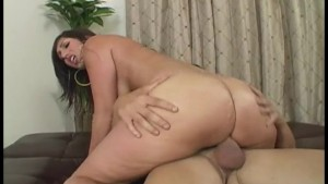 Bubble Butt Cutie Bouncing On Stiff Dick