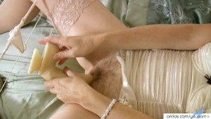 Fingering Anal Milf With Dildo
