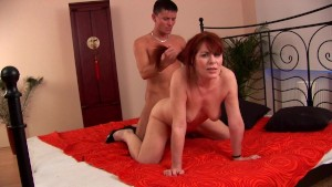 Mature Redhead Begs For More - CzechSuperStars