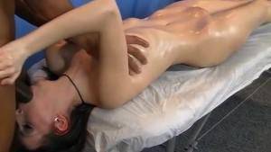 Pussy massage and ass massage fuck