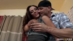 Sexy Latina mom Ariella Ferrera fucks college student in his dorm