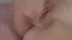 Stunning brunette in lingerie loves to masturbate for the camera
