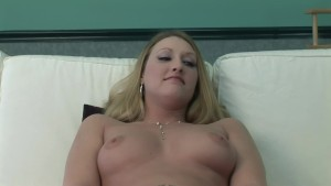 Hot blonde plays with her ass and masturbates to his lead - DreamGirls