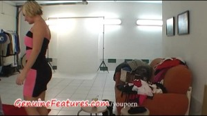 Real czech chick does striptease for horny guy