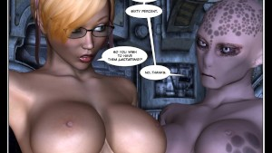 3D Comic: Android. Episodes 1-3