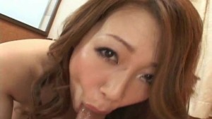 Japanese babe takes a hard deep fucking Uncensored