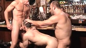 Group Of Bears Fuck In The Bar - Factory Video