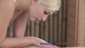 Massage Rooms Two beautiful lesbians have intense orgasms in sensual sex