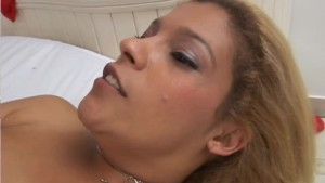 BBW goes solo until she s greeted by a hard cock