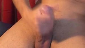 Next door guy gets wanked his big dick by a guy !