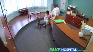 FakeHospital Busty ex porn star uses her amazing sexual skills and body to pass job interview