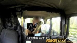 FakeTaxi Brunette club hostess mistaken for a hoooker