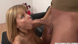 Horny MILF Babe Loves Younger Men