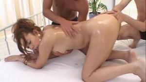 Jun Rukawa gets cock in her wet fanny
