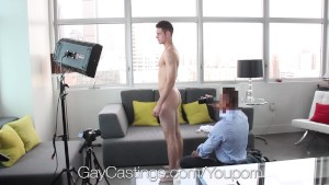 HD GayCastings - Duncan Black hopes to get double penetrated on camera