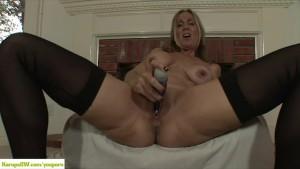 Jenna Covelli Dildos Her Pussy