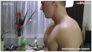 German Blond MILF Dirty-Tina after Venus Party