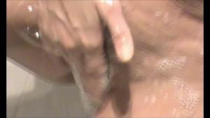 Brunette MILF in the bath - Julia Reaves
