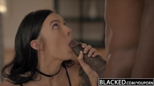 BLACKED First Interracial For Model Marley Brinx