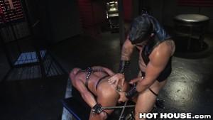 HotHouse Bound Hunks Intense and Sweaty Assfuck
