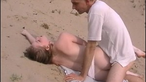 Gettin Pussy on the Beach