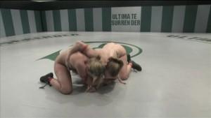 Alexa and Kirra catfighting naked