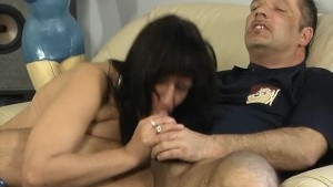 Mature gets naughty