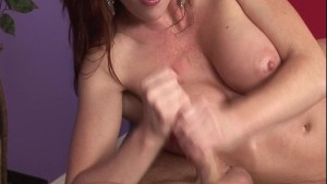 Sexy redhead masseuse gives extra service p.3