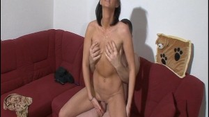 Wife teases him right into fucking around [CLIP]