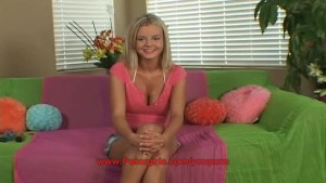 Bree Olson First nude modeling audition
