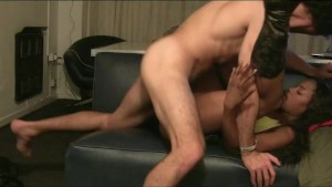 African Hottie Fucked And Cummed On By White Boy