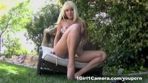Briana Blair Outside