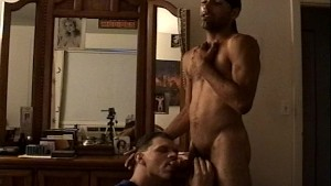 Two horny guys get it on