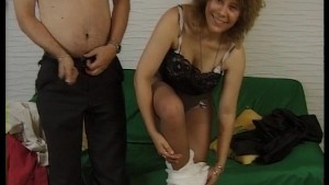 Wife sucks another mans dick in front of husband