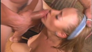 girl fucked every which way but loose on ugly couch