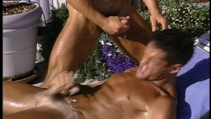 Getting some cum by the pool(clip)
