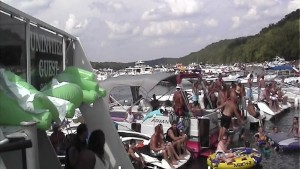 Crazy Party Girl Home Video on the Lake pt 1