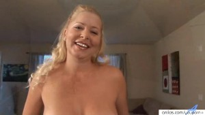 Big tit milf works her pussy with a plastic penis