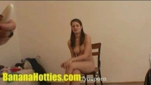 Casting - The cutest teen you ve ever seen does hardcore!