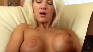 Blonde MILF Cums Hard