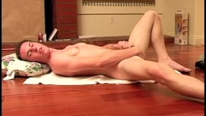Sexy Nude Boy Jerking Off