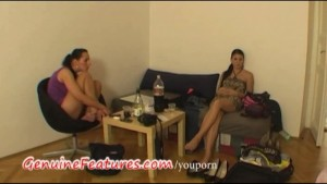 Real czech lesbians at the casting