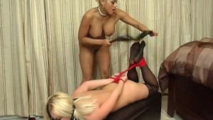 Bound And Fucked By A Big Black Dildo - Maxine X